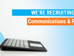 We're recruiting: Communications & Projects Intern