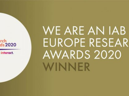 EDAA research wins Gold at 2020 IAB Europe Research Awards